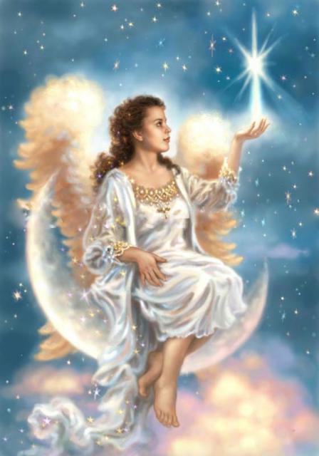 Ангел-хранитель, девушка