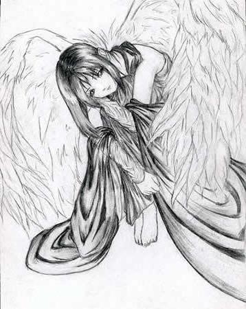 Девочка с крыльями, девочка с
