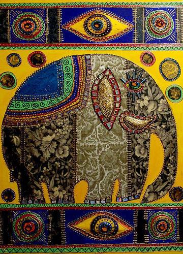 Индия.Слон, оригинал