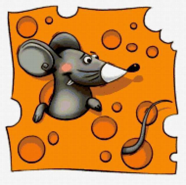 Мышка в сыре, предпросмотр
