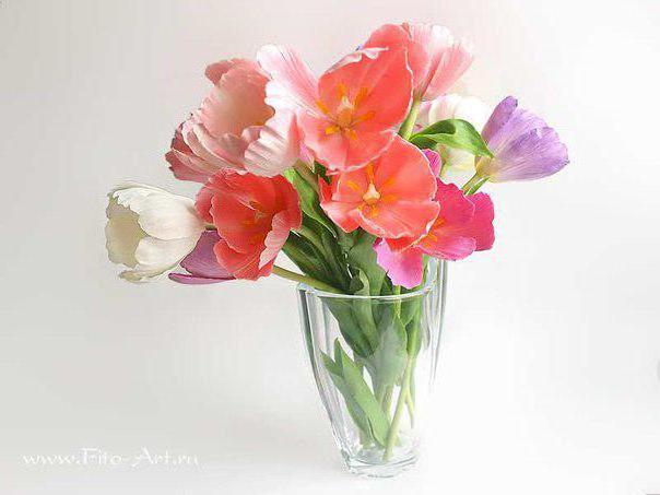 Букет тюльпанов, оригинал