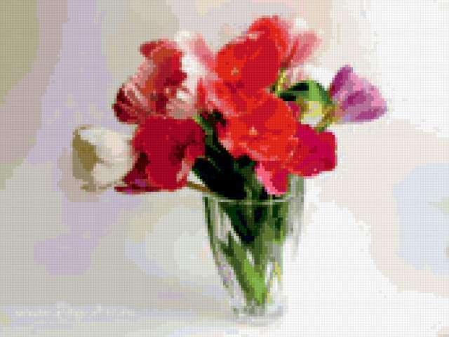 Букет тюльпанов, предпросмотр