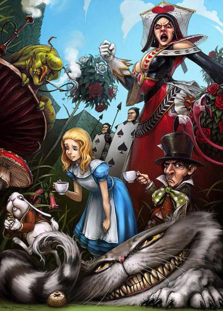 Алиса в стране чудес, оригинал