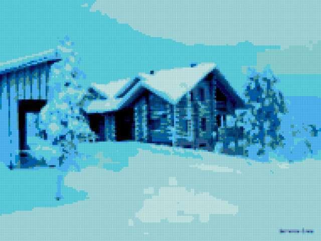 Голубая зима, предпросмотр