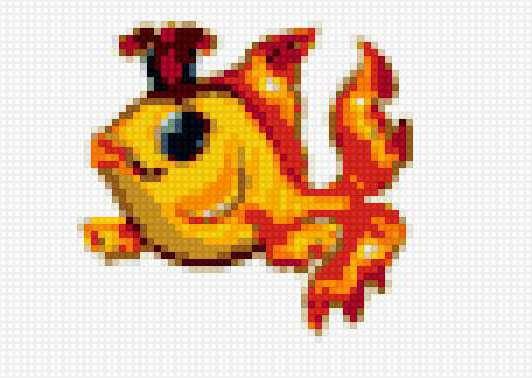 Золотая рыбка (маленькая