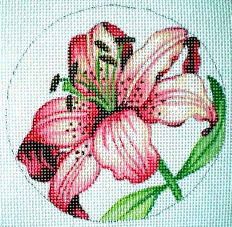 Панно с лилией, цветочные