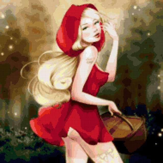 Красная шапочка, предпросмотр