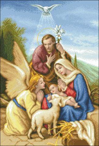 Святое семейство, оригинал