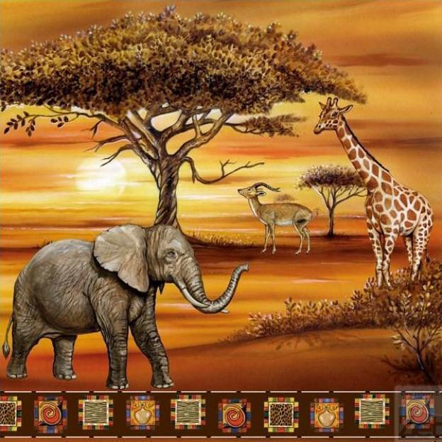 Подушка Африка, оригинал