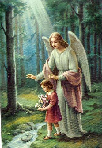 Ангел хранитель, дети, ангелы