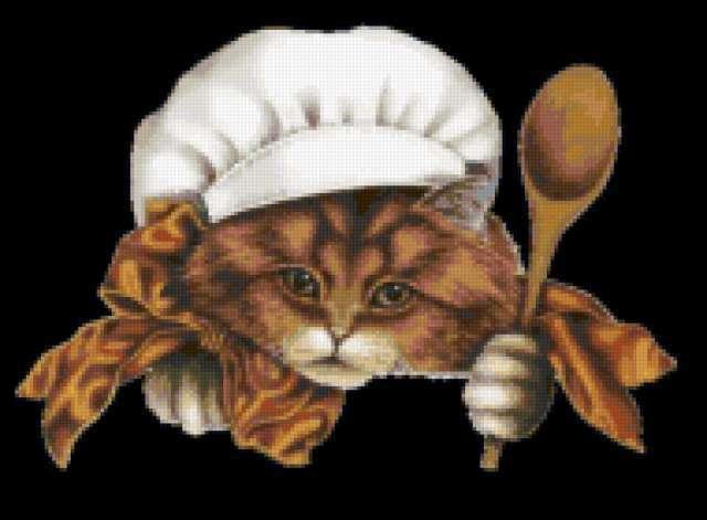 Кот-повар, предпросмотр