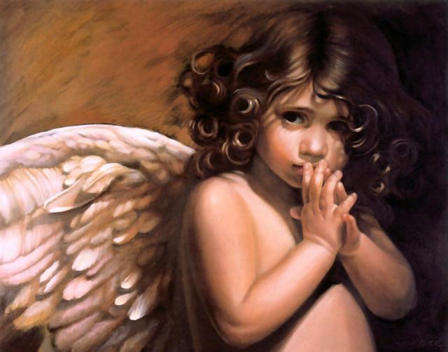 Девочка-ангел, девочк, ангел