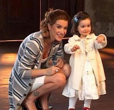 Бородина с дочкой, дом2