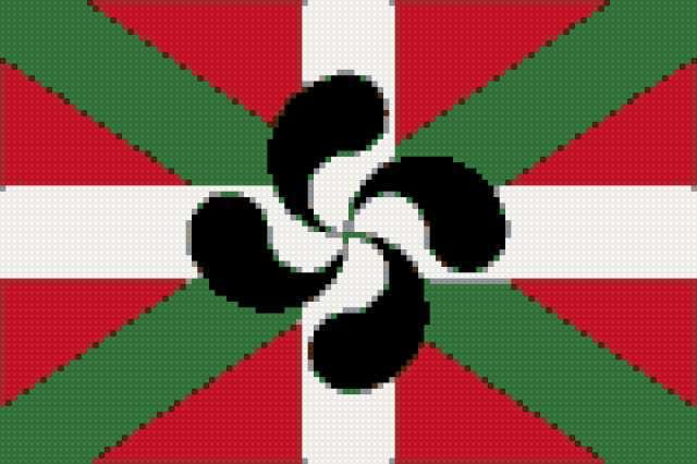 Флаг Эускади, предпросмотр