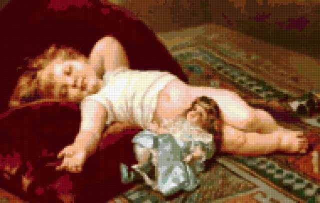 Сладкий сон, дети, ангел,