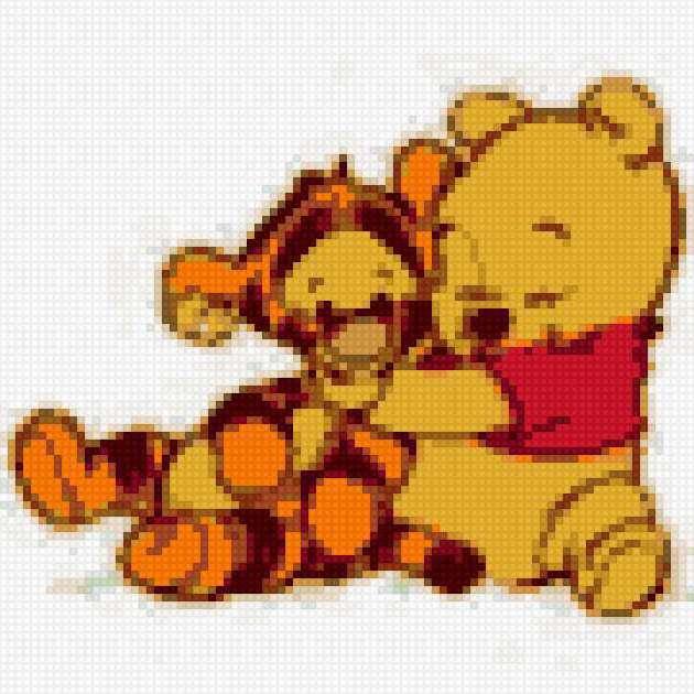 Винни Пух и Тигра,