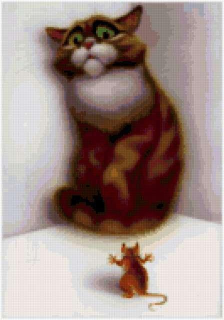 Кот и мышь, предпросмотр