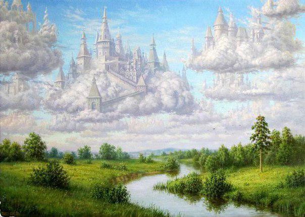 Замки в облаках, оригинал