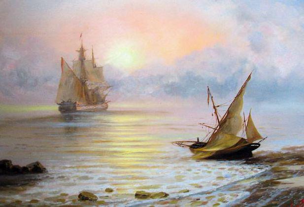 Морские пейзажи, оригинал