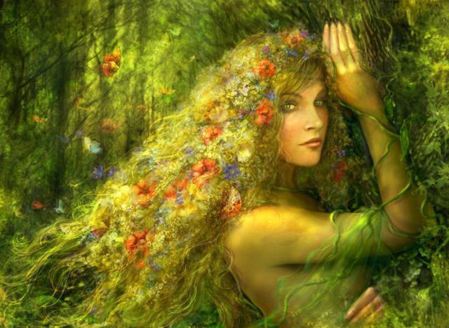 схему вышивки «Дух Леса».