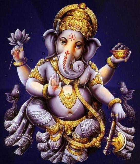 Боги Индии. Ганеша., оригинал