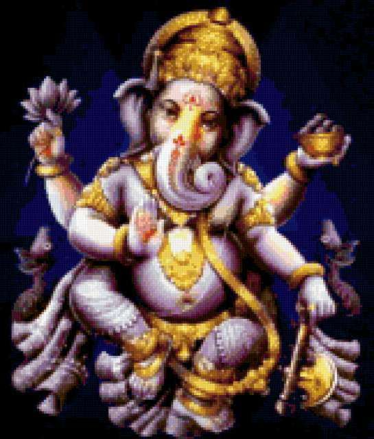 Боги Индии. Ганеша.