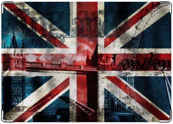 Схема вышивки «Флаг британии»