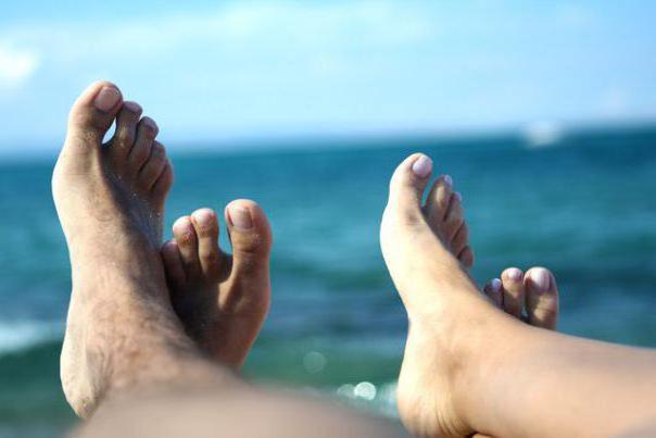 Схема вышивки «Пляж, ноги)»