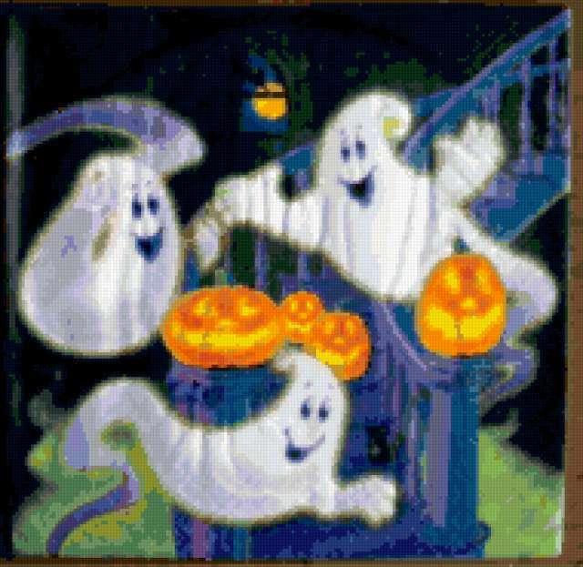 Веселые привидения