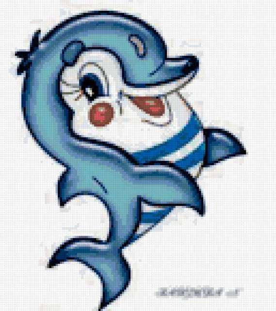 Дельфинчик, дельфин
