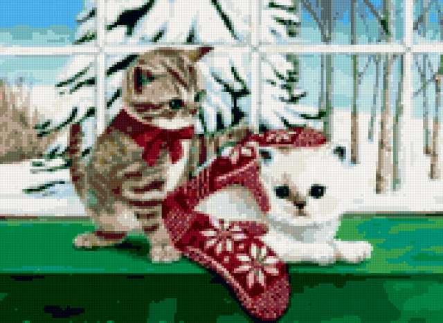 Котята и варежки, предпросмотр