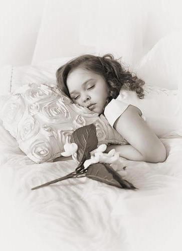 Дочка спит, она устала...,