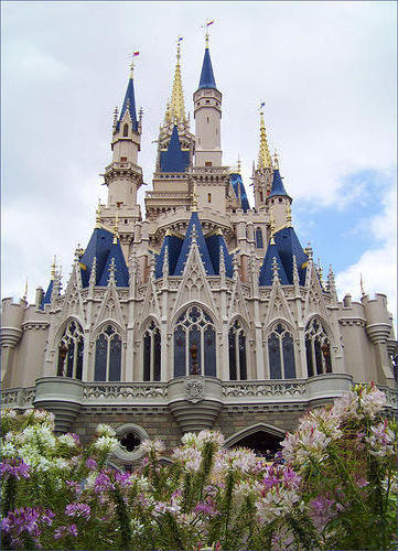 Замок золушки, постройки