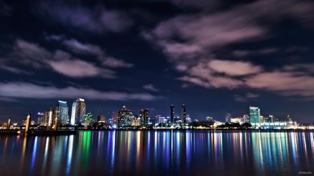 Ночной город, оригинал
