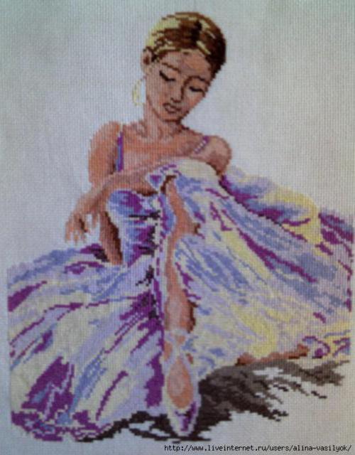 Прекрасная балеринв, балерина