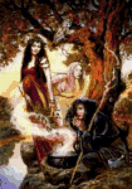 Мудрость женщин, ведьма