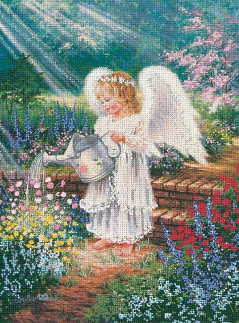 Цветочный ангел, оригинал