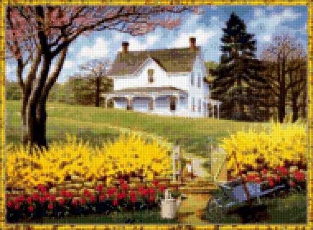 Сельский дом, предпросмотр