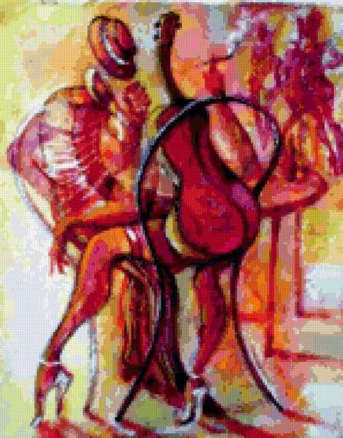 Художник Roberto Volta и танго