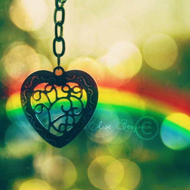 цепь цепочка цвета радуга