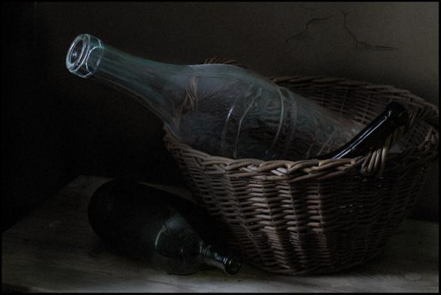 Бутылки, оригинал