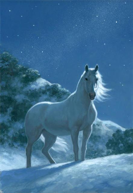 Лунный конь, оригинал