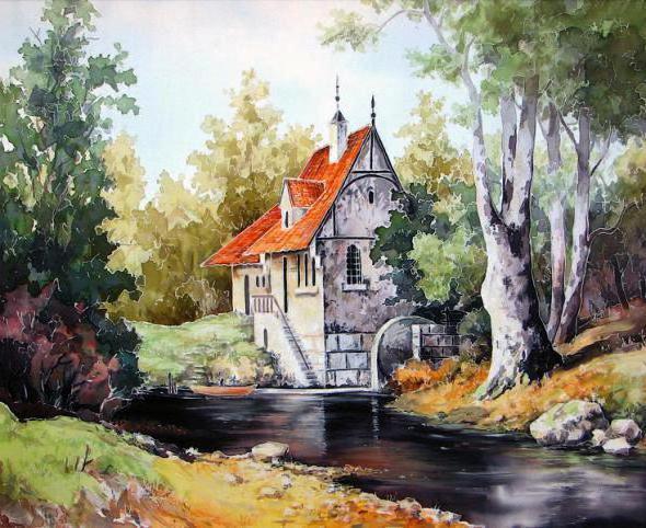 Старая мельница, оригинал