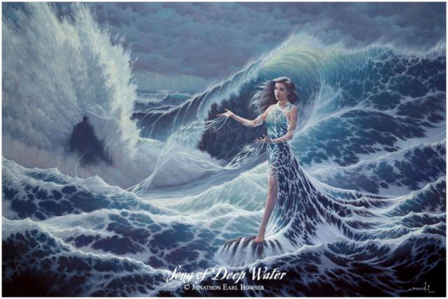Богиня моря, оригинал