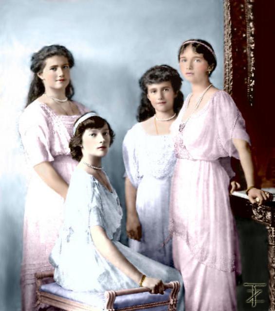 Сестры, царская семья