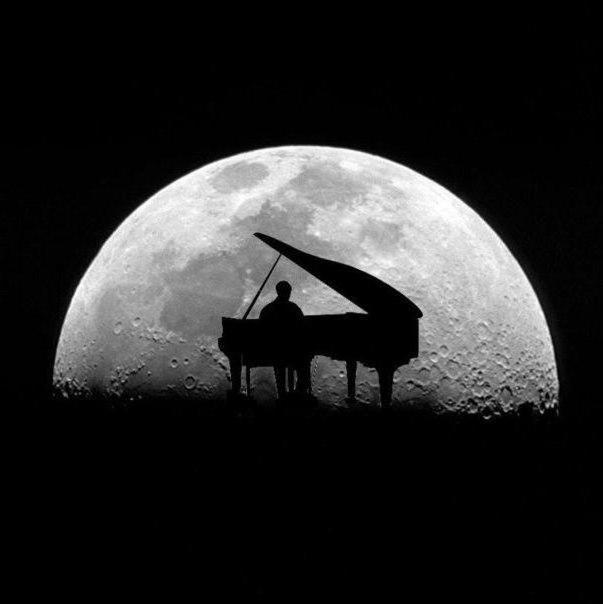 Человек под луной, оригинал