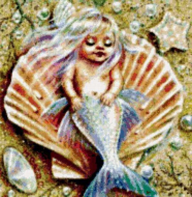 Русалка-малыш, русалка