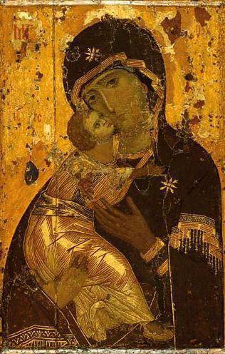 Владимирская икона Божья