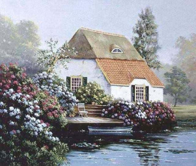 Домик у озера, оригинал