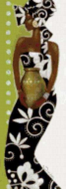 Африканка с горшком